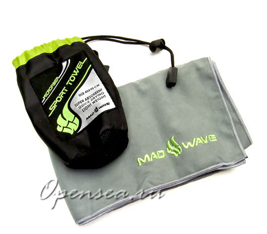 Полотенце Mad Wave Microfiber Towel 40x90 см
