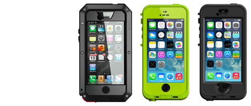 Чехлы для iPhone: Lunatik и Lifeproof